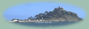 St Michaels Mount - just a short distance from the Dunedin Guest House, Penzance, Cornwall